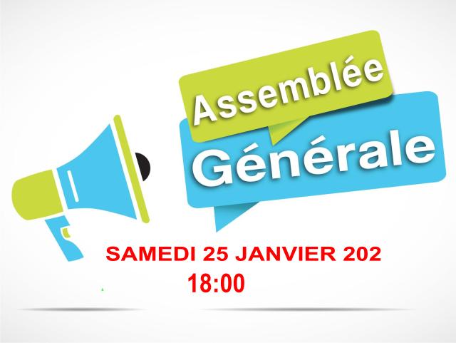 AG 2019 le 25 janvier 2020